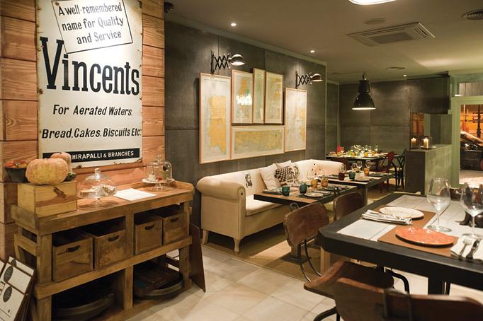 Restaurantes for Decoracion vintage valencia