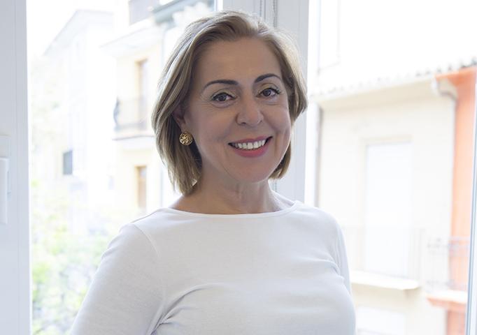 La doctora Luz Aguiló