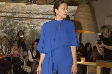 El azul es uno de los colores favoritos de Torrijos y está presente en muchos diseños