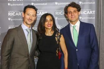 thumbnail_El doctor José Mª Ricart, Ana Cobo y José Remohí, fundador y copresidente del IVI